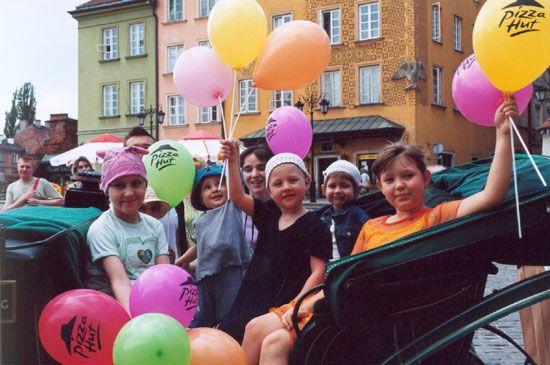 Powitanie lata w Warszawie