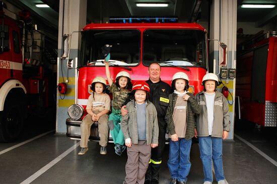 Wizyta w Jednostce Straży Pożarnej