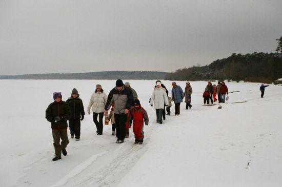 Zimowy weekend w Nagórzycach