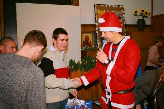 Wigilia z naszymi podopiecznymi z oddziału na Litewskiej