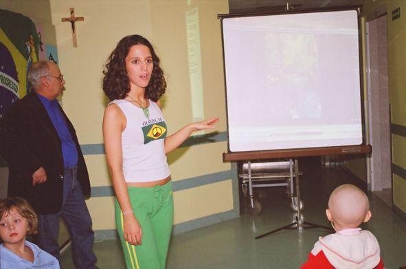 Spotkanie z kulturą Brazylii  w Instytucie Matki i Dziecka