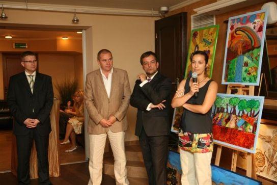 Aukcja charytatywna na rzecz Fundacji  w Nałęczowie