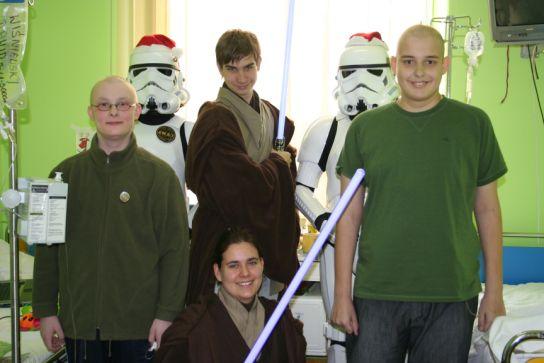 Międzygalaktyczne spotkanie wigilijne na Litewskiej