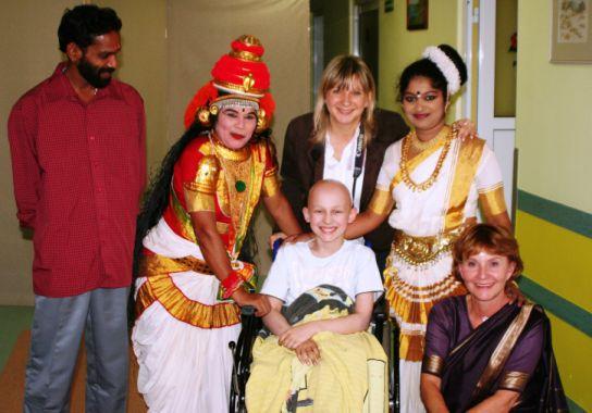 Spektakl taneczno-teatralny artystów z Indii
