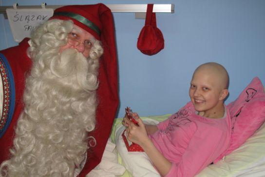 Wizyta Świętego Mikołaja... z Laponii