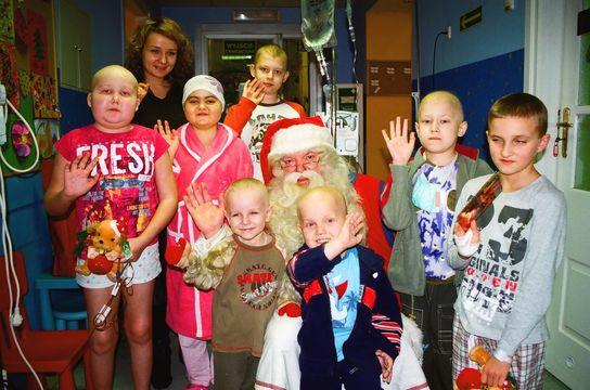 Wizyta Świętego Mikołaja z Laponii na Litewskiej