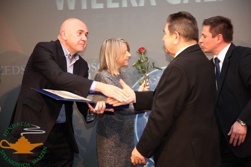 PERŁY MEDYCYNY 2011 dla Fundacji Spełnionych Marzeń