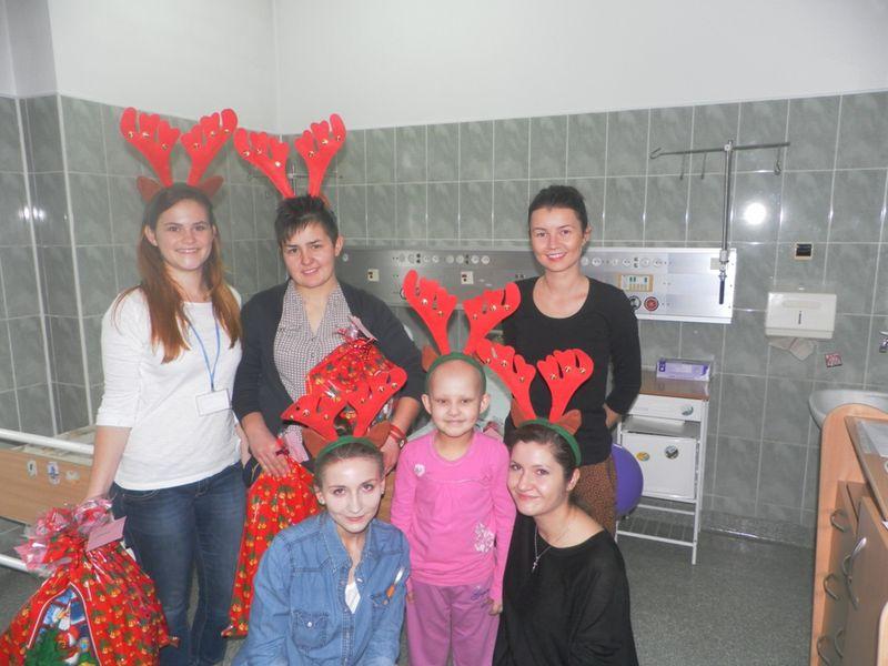 Mikołajki na oddziale w Kielcach
