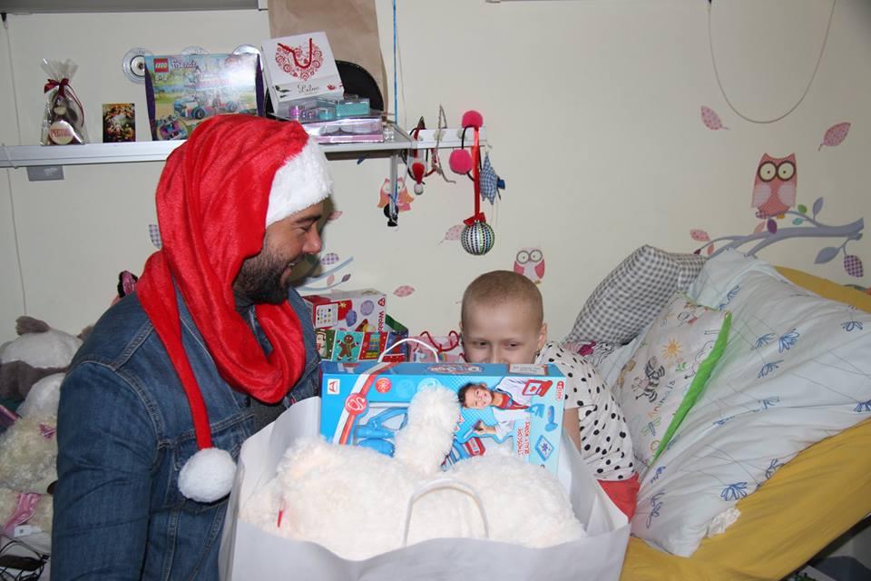 Odwiedziny Lindy Sztyller z Fundacji Duval i Conrado Moreno w roli Mikołaja!