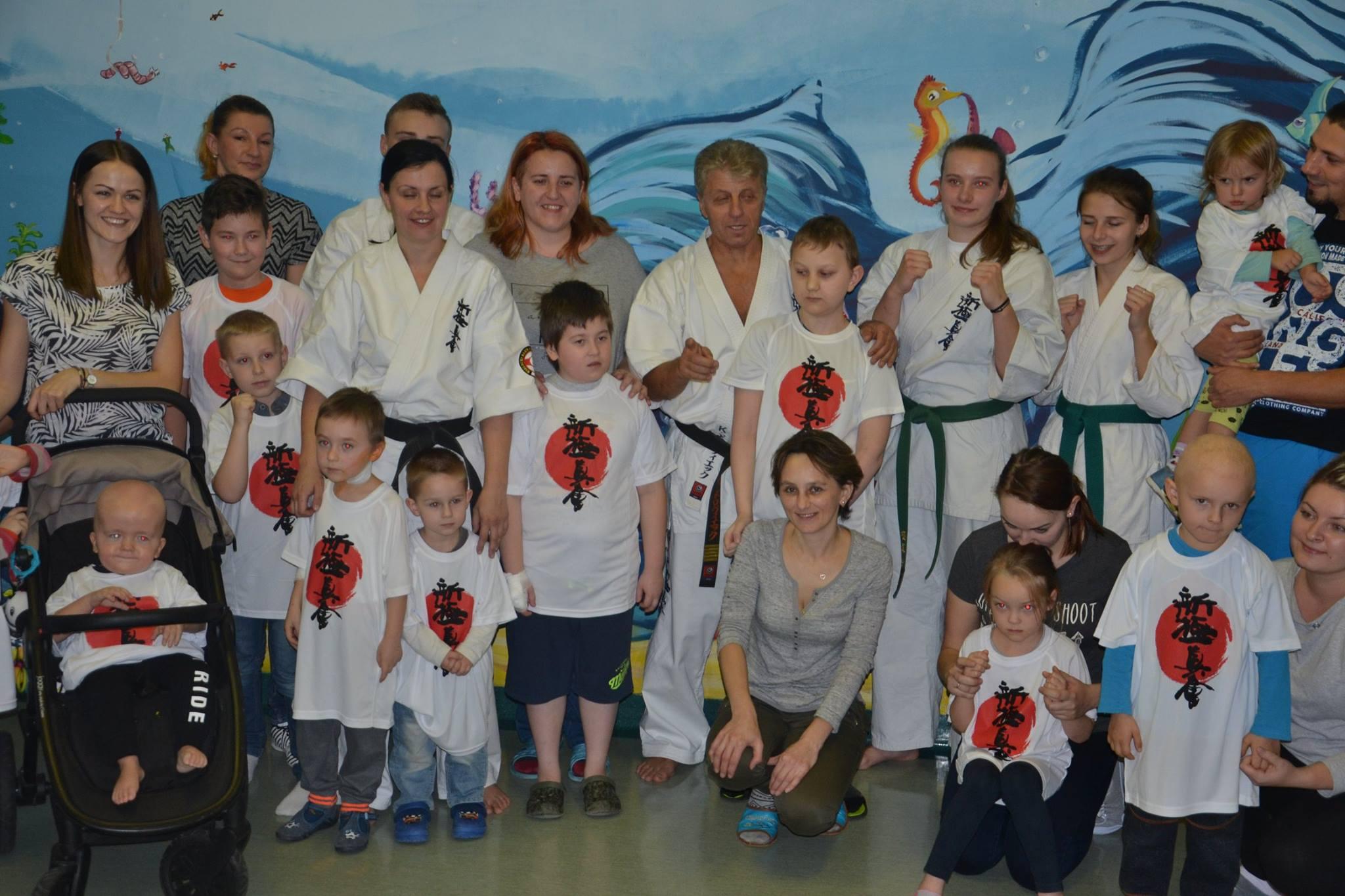 Pokaz karate na oddziale w Kielcach!