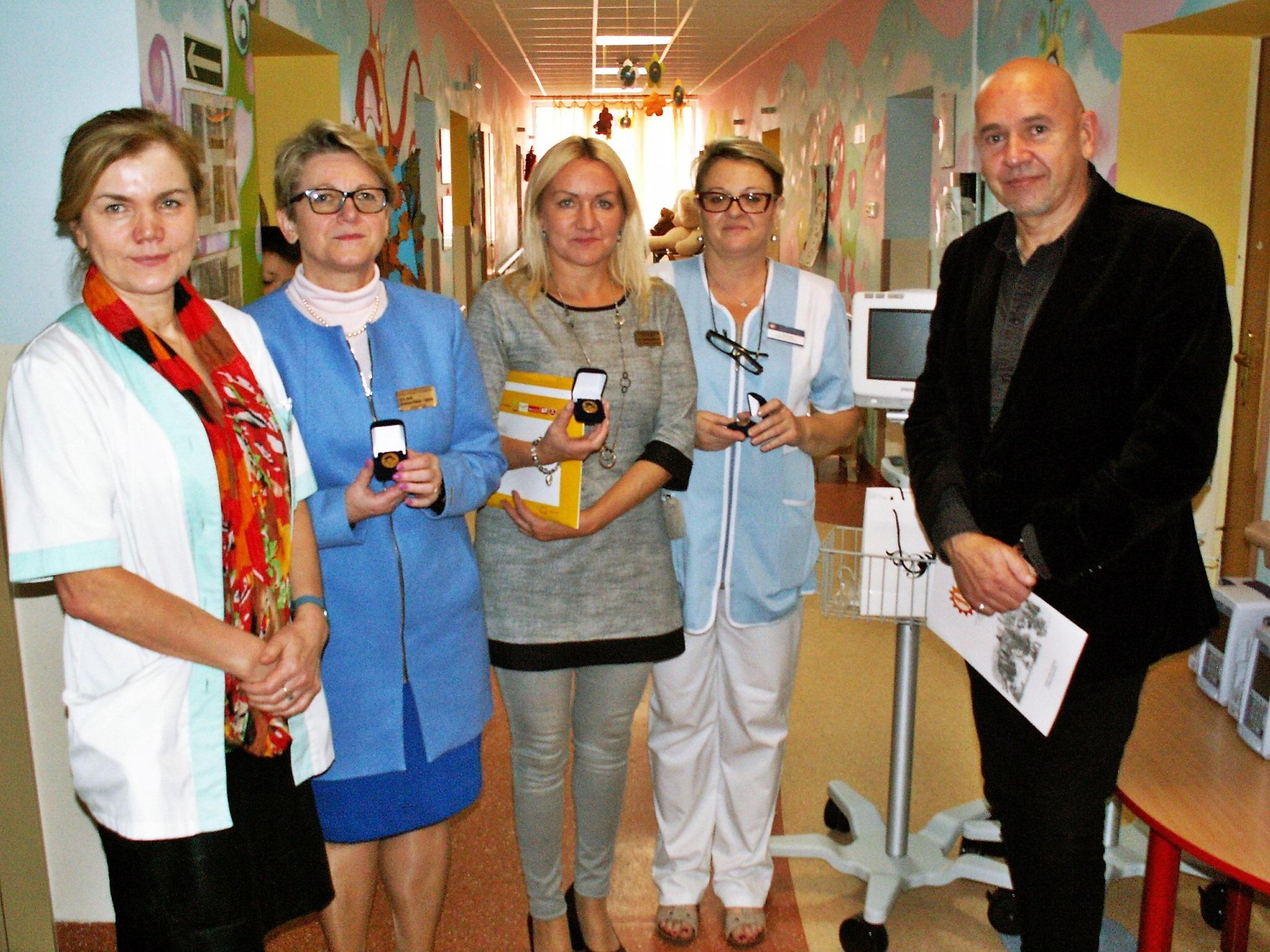 Sprzęt za 100 000 zł na oddział onkologii w Olsztynie