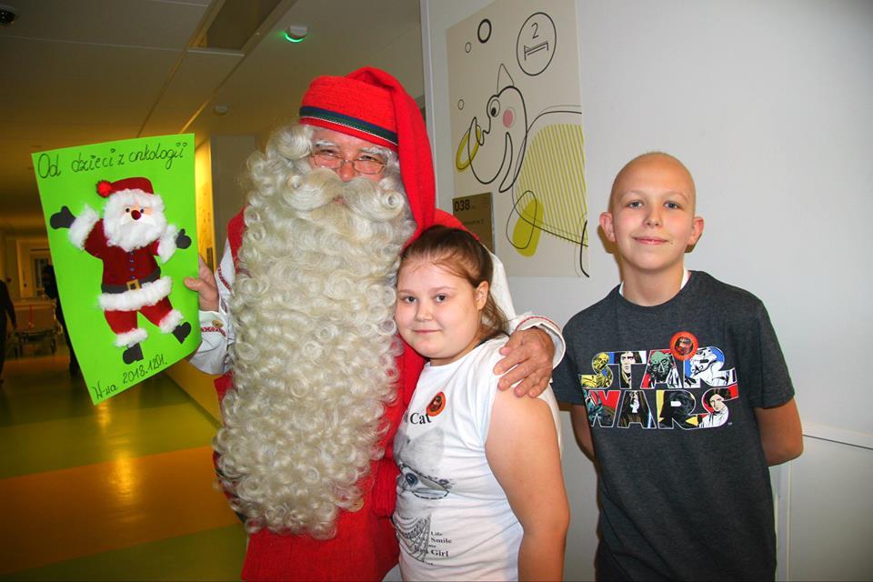Odwiedziny Świętego Mikołaja!