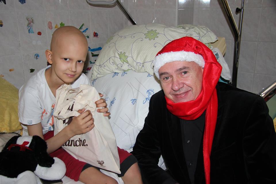 Mikołaj odwiedził dzieci w szpitalu na Kasprzaka w Warszawie!