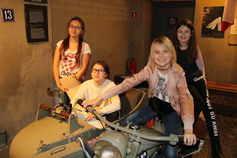 Wycieczka do Muzeum Powstania Warszawskiego