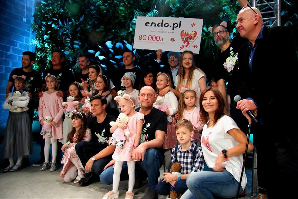 Pokaz mody Fundacji Spełnionych Marzeń z marką Endo na Warsaw Fashion!
