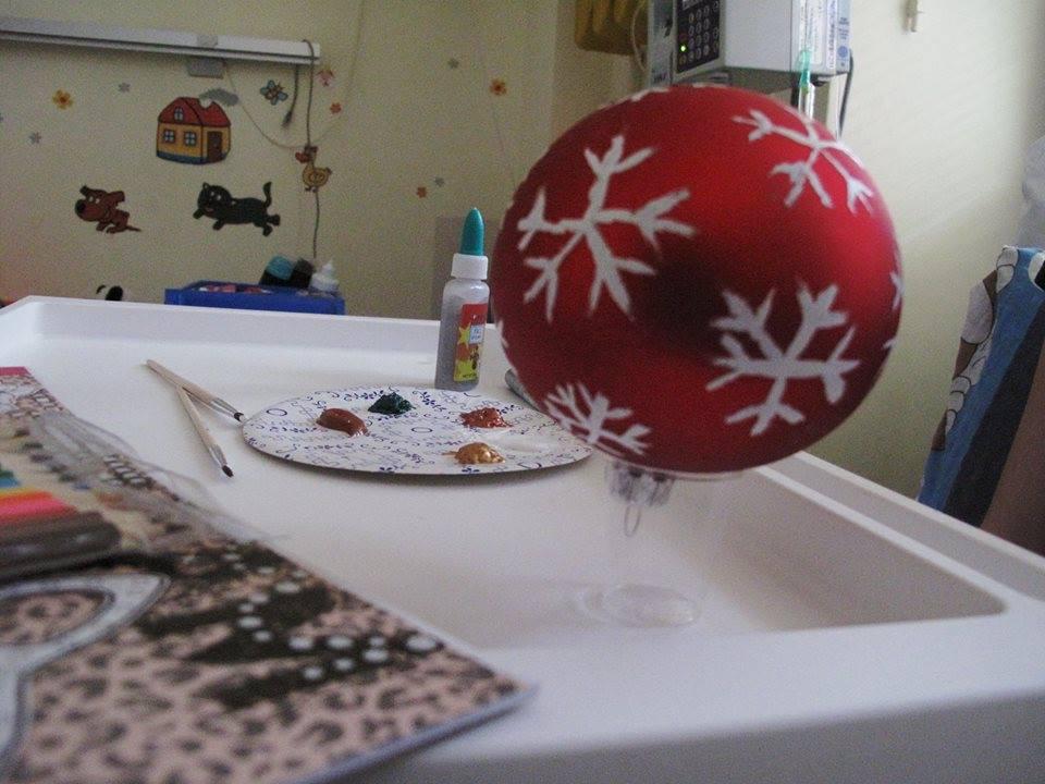 Malujemy bombki na święta!