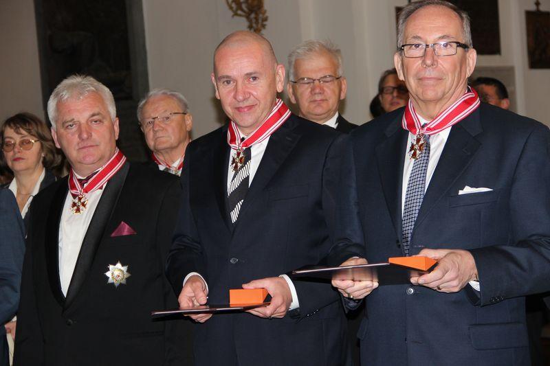 Nadanie Orderu Św. Stanisława Tomaszowi Osuchowi
