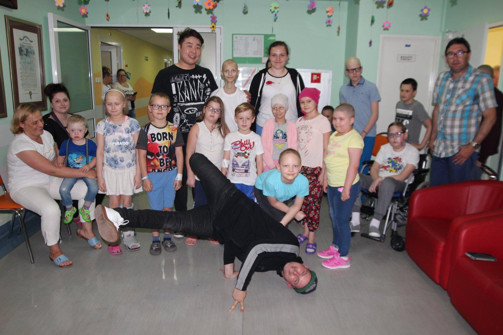 Maciej Florek i Bilguun Ariunbaatar z wizytą