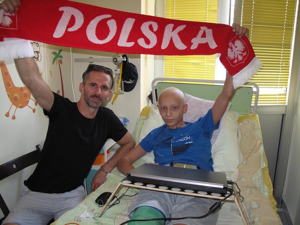 Marcin Bosak z wizytą w IMiD