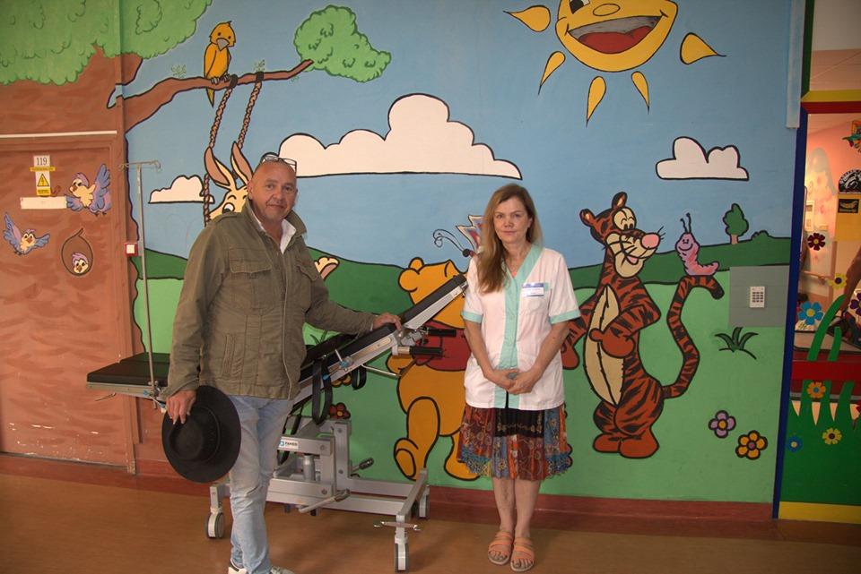 Przekazujemy sprzęt dla Szpitala Dziecięcego w Olsztynie!